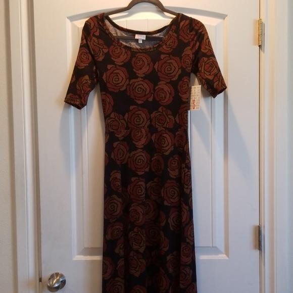LuLaRoe Dresses & Skirts - Bnwt LuLaRoe Ana full length Maxi Dress size small